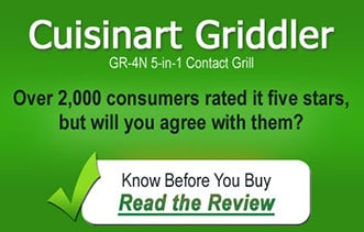 The Top Selling Cuisinart Griddler Contact Grill