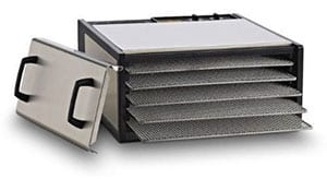 Excalibur 5-Tray Stainless Steel Dehydrator #D500SHD