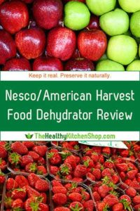 Nesco Snackmaster Pro Food Dehydrator Review - save time and shop smart at TheHealthyKitchenShop.com