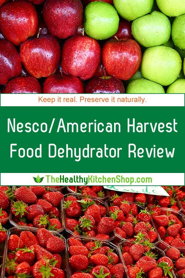 Nesco / American Harvest Snackmaster Food Dehydrator Review