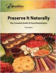 Preserve It Naturally Dehydrator Book
