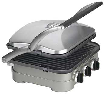 Cuisinart Griddler has Adjustable Top