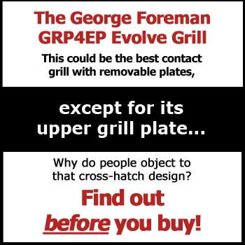 George Foreman GRP4EP Review - Get the Facts Before You Buy