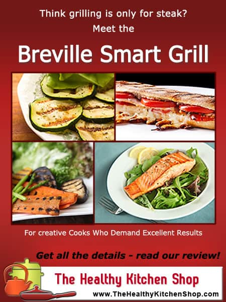 Read in depth Breville Smart Grill Review at www.thehealthykitchenshop.com. This is an excellent high end grill, but get all the details before you buy!