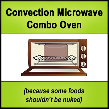 Convection Microwave Reviews - Comparison Chart - www.TheHealthyKitchenShop.com