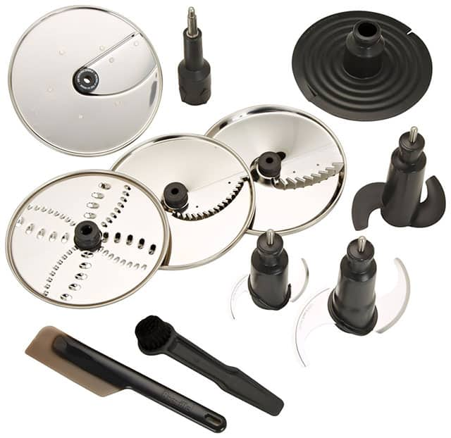Breville Sous Chef Blades, Discs, Spatula & Cleaning Tool