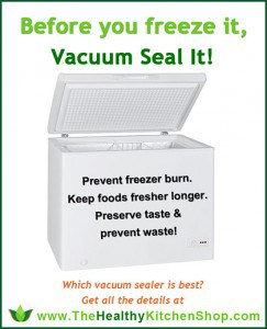 Before you freeze it, vacuum seal it! https://www.thehealthykitchenshop.com//