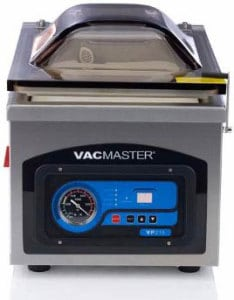 VacMaster VP215 Chamber Vacuum Sealer - closed view