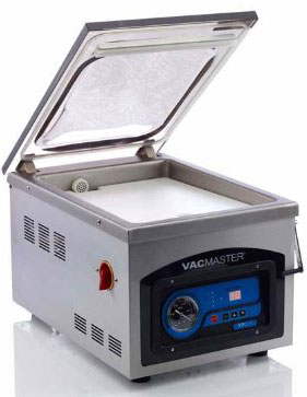 VacMaster VP215 Chamber Vacuum Sealer - open