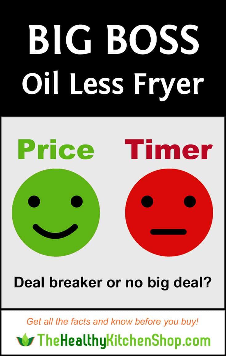 Big Boss Oil-Less Fryer Review