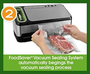 FoodSaver 2-in-1 Vacuum Sealer - Step 2