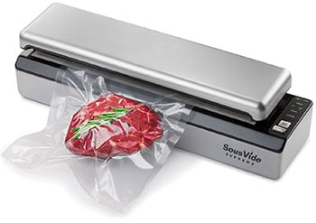 SousVide Supreme Vacuum Sealer - alternate view