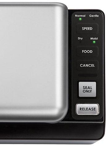 SousVide Supreme Vacuum Sealer Controls
