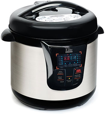 Elite Platinum Pressure Cooker - MaxiMatic EPC-808 Elite Platinum 8-Quart Pressure Cooker