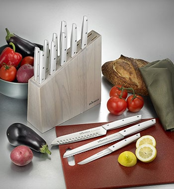 Hampton Forge HMC01B262B 13-Piece Skandia Talvi Knife Block Set