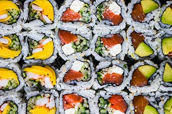 Health Benefits of Sushi make it a non-guilty pleasure