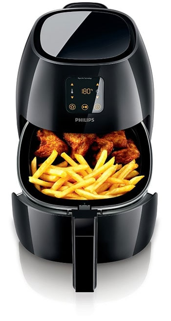 Philips HD9240 Airfryer Avance, X-Large, open view