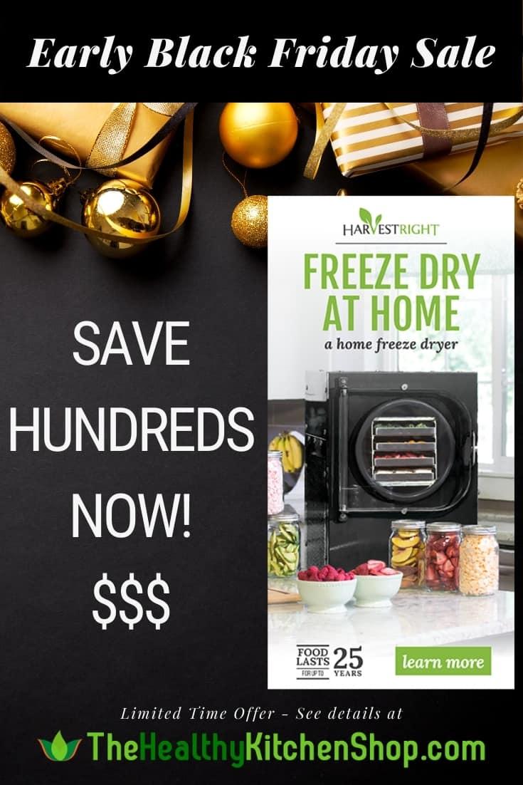 Home Freeze Dryer Harvest Right Black Friday Sale