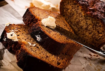 Banana Bread- Air Fryer Recipes at https://www.thehealthykitchenshop.com//