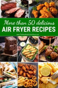 50+ Air Fryer Recipes - Southern fried cooking the healthier way!