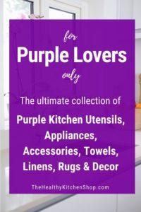 Purple Kitchen Utensils