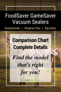 Compare FoodSaver GameSaver Models
