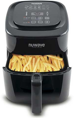 NuWave Brio Air Fryer, 6 QT Digital - click to see it on Amazon