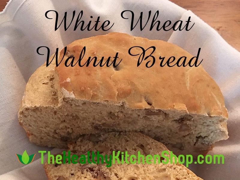 Air Fryer Recipe - White Wheat Walnut Bread