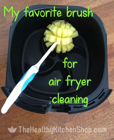 My favorite brush for cleaning my Philips Airfryer