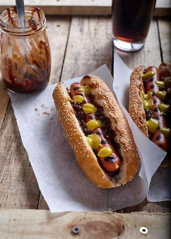 Air Fryer Hot Dogs recipe from Copykat