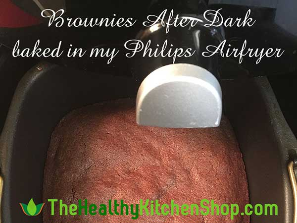 Brownies recipe from The Air Fryer Bible