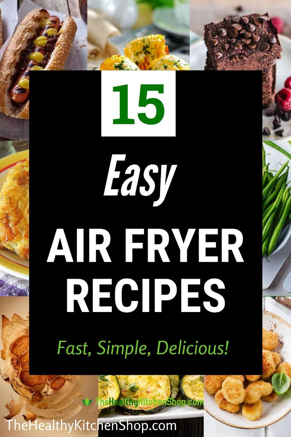 15 Easy Air Fryer Recipe - a roundup