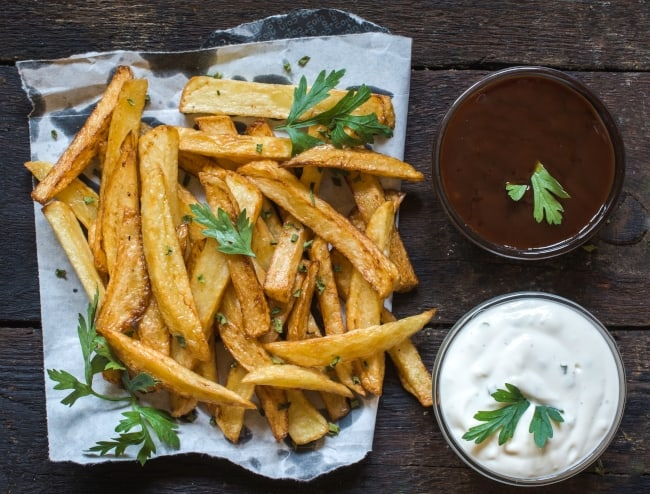 Potato Wedges - An Air Fryer Specialty!