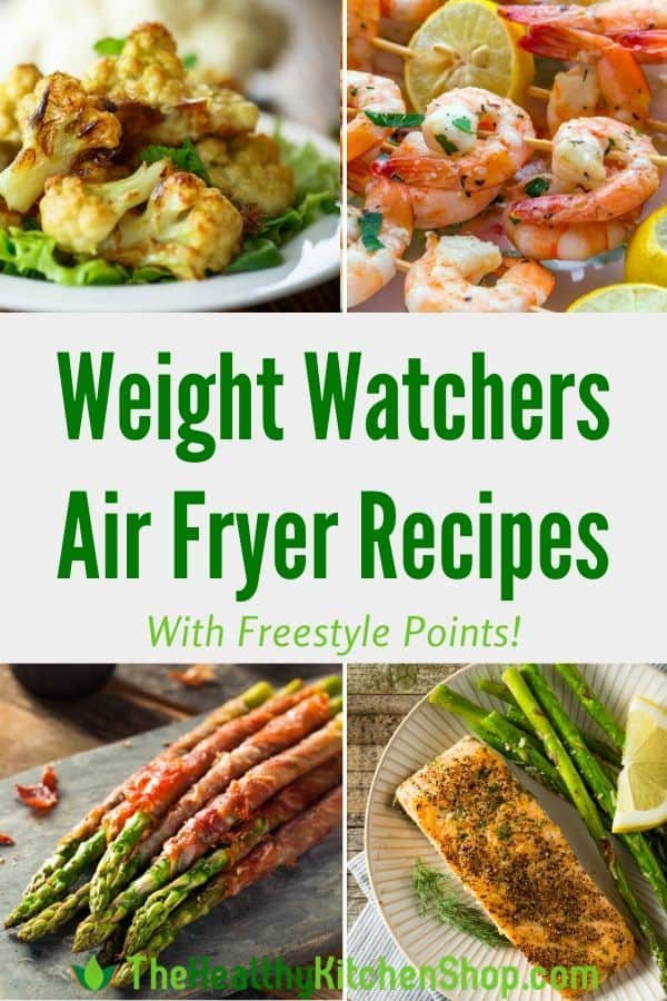 Weight Watchers Air Fryer Recipes with Freestyle Points