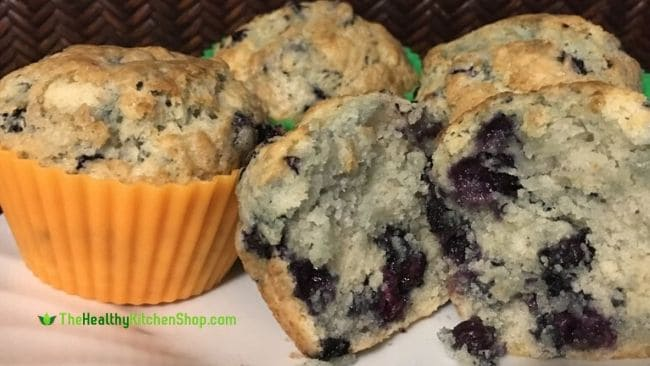 cooked muffins from my Philips